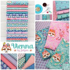 c0923c3592e Andrea Muller - Vienna Fabric Collection Fabric Squares, Patchwork Fabric,  Quilting Fabric, Fabric