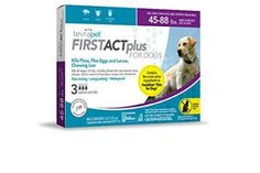 Off Limited Time Offer! TevraPet FirstAct Plus Flea and Tick Prevention for Large Dogs lbs, 3 Monthly Treatments Flea Treatment For House, Dog Flea Treatment, Flea Medicine For Cats, Medication For Dogs, Flea Spray, Rat Terriers, Flea And Tick, Teeth Cleaning