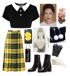 """Untitled #69"" by mikaelabeck on Polyvore featuring Killstar, Junya Watanabe Comme des Garçons, Fendi, Sigma, Various Projects and Brixton"