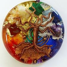 COLGANTE ORGONITE ARBOL DE LA VIDA http://artesamor.com/web/shop/or-cols-0016-colgante-simbologia-arbol-vida/