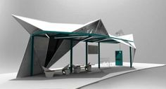 Sail bus shelter design by_a551 Kwek Rui Kiat-Public Space Ideas