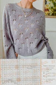 Lace Knitting Patterns, Sweaters, Fashion, Knitting Machine, Knitting Sweaters, Sacks, Tejidos, Patterns, Breien