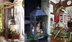 Decorating with Christmas lanterns - Adorable Home