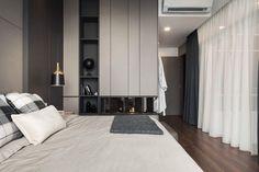 House in Pulau Pinang by Vault Design Lab « HomeAdore Master Bedroom Interior, Condo Bedroom, Bedroom Wardrobe, Modern Bedroom, Bedroom Decor, Bedroom Ideas, Modern Home Interior Design, Modern House Design, Interior Ideas