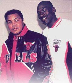 Michael Jordan and Mohammed Ali