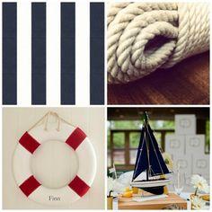 Amelia Marie Design: Nautical Birthday party Inspiration #navy #nautical #birthdayparty