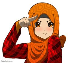 In the Name of Allah. Assalam Alaikum (Peace be upon you) Brothers and Sisters. I hope you're all doing well ^^ You recognize this don't you ? Yup, it's the same drawing but in another version I. Hijab Drawing, Drawing S, Islamic Cartoon, Girl Cartoon, Chibi, Disney Characters, Fictional Characters, Aurora Sleeping Beauty, Modest Fashion