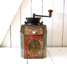Antique coffee grinder             ****