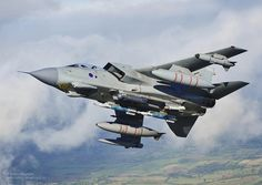 A XI(B) Sqn Tornado GR4 training for deployment to Afghanistan.