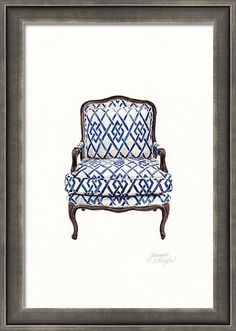 Bergere Art Print featuring the painting Bergere by Jazmin Angeles #art #artwork #retro #retrohomedecor #homedecor #decor #framedprints