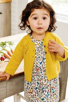 With charming woodland creatures, sweet floral prints and exquisite embroidered details, this traditional dress is a year-round essential. The supersoft 100% cotton cord is lined for extra comfort, while the button-down back makes it easy to slip on to your baby in the morning. Even better? It will fit her comfortably all day long.