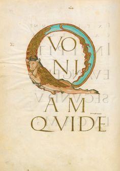 BnF - Livres carolingiens, manuscrits de Charlemagne à Charles le Chauve