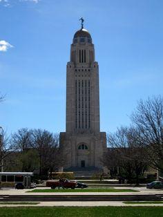 Nebraska State Capital - Lincoln, Nebraska