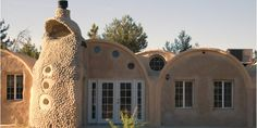 Earth Bag House, I love this architectural concept.