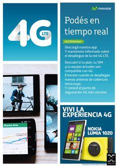"""""""Podes en tiempo real"""" campaña inicial 4g Movistar"""