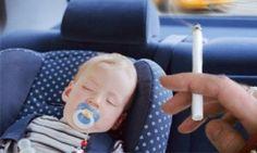 Çocukların bulunduğu arabada sigara içmeye yasak geliyor!