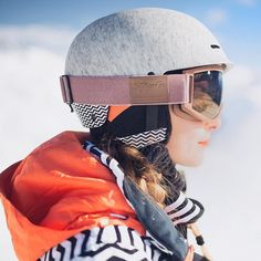 Ready to hit the slopes  with my #strangefroots ski goggles  by carolanneroux