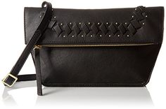 Danielle Nicole Theia Crossbody, Black >>> You can get more details by clicking on the image.