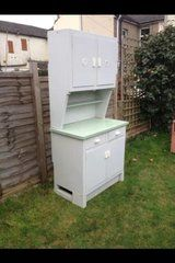 TWO Vintage Retro Kitchen Units, Cabinets, Cupboards - 1