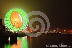 Seattle Wheel Blue Friday Pre Superbowl