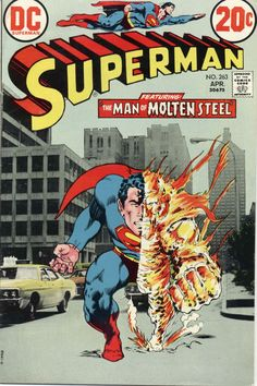 """Lot Number: The two best ways are Superman Vol F+-VF Condition. This is issue of """"Superman"""", published in Comic is in Fine+ to Very Fine Condition! Old Comic Books, Vintage Comic Books, Comic Book Covers, Vintage Comics, Vintage Art, Old Comics, Marvel Dc Comics, Marvel Vs, Action Comics 1"""