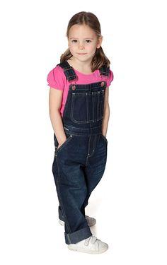 Uskees - Girls Dungarees - Darkwash Girls Denim Dungarees Kids Bib Overalls USK.KD03.G Ladies Dungarees, Men's Dungarees, Denim Overalls, My Little Girl, My Girl, Salopette Jeans, Girls Show, Big Boys, Kids