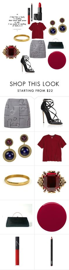 """Daring to be different"" by alisafranklin on Polyvore featuring Victoria, Victoria Beckham, Dolce&Gabbana, Chanel, Topshop, Alexander McQueen, Smith & Cult and NARS Cosmetics"