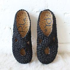 Pla Illetes Braided Shoe Black