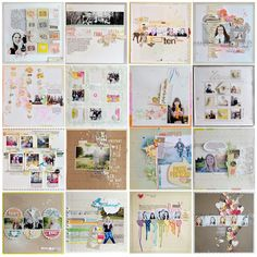 I love Wilna's scrapbooking style.  he{ART}: This year in review so far...