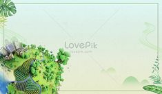 Global travel background Tourism, environment day, earth, green, earth day, background material, poster background, background