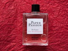 Paper Passion, perfume that smells like books