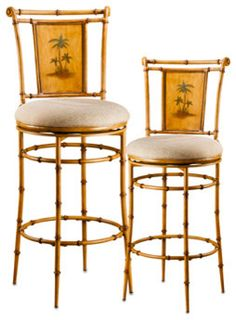 West Palm Stool - tropical - bar stools and counter stools - Bed Bath and Beyond