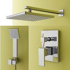neu set duschkopf duschpaneel duscharmatur regendusche duschbrause ... - Regendusche Unterputz