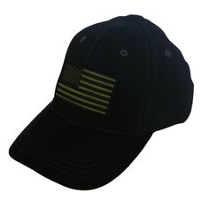 28dab6e10b8 Black Micromesh American Flag Hat at www.squaredawaysurplus.com   getsquaredaway Hat Sizes