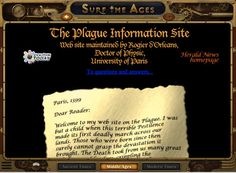 World Book Surf the Ages iPad app: a look at the past 5,500 years, from the Leif Erikson fan page to the Black Plague information site. Each era from 3500 B.C. to the 20th century, has its own homepage with links to other imaginary Web sites from that period.