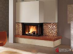 Rose - Seminee moderne de colt   Exclusiv Design - Apa&Foc