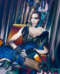 Louis Vuitton Fall/Winter 2009-2010 Madonna by Steven Meisel