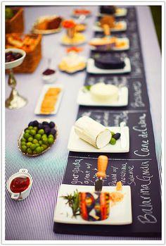 "Chalkboard Place Mats ♡ ""I Grew It In My Garden Party"" #SmirnoffContestEntry"