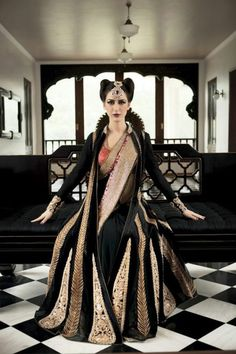 Indian Bridal Fashion Campaign by Designer Nivedita Saboo | Indian Wedding Site