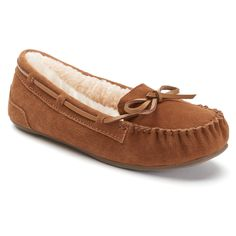 Color: Chestnut, Size: 8.5 - SO® Women's Moccasin Shoes