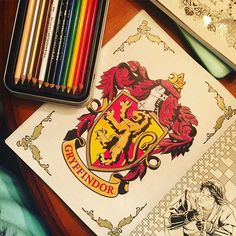 Mulpix Finally Finished A Coloring Page In My Harry Potter Coloring Book Loving My Prismacolor Color Harry Potter Coloring Book Coloring Books Coloring Pages