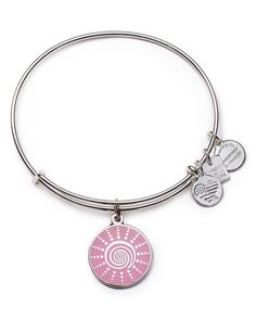 Alex and Ani will donate 20% of the purchase price from each spiral sun charm sold, with a minimum donation of $25,000, between September 2015 and December 2015 to The Breast Cancer Research Foundatio