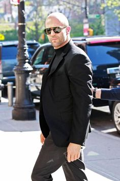 Jason Statham Photos: Jason Statham Looks Tough in NYC