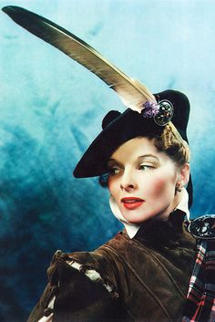 Katharine Hepburn in a promotional photo for Mary of Scotland (1936)
