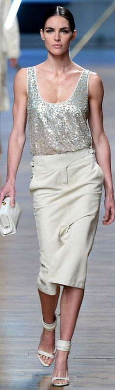 Jason Wu- this is quite a chic look for the office with a blazed.
