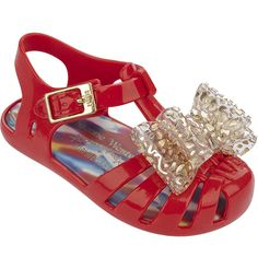 + Melissa Luxury Shoes Anglomania + Melissa Aranha (Toddler) plyN3