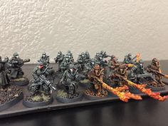 New Death korps of Krieg army , I bought 60 kriegsman for 8th hopefully these guys will make me proud . : Warhammer40k
