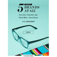 5 Brands at $55 only @ Clearly - Bargain Bro