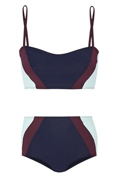 Flagpole Swim Perry colour block bikini, £320