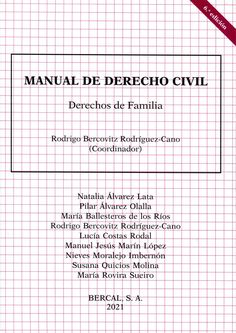 Manual de derecho civil. Derecho de familia / Rodrigo Bercovitz Rodríguez-Cano Bercal, 2021 Word Search, Bullet Journal, Words, Civil Rights, Horse
